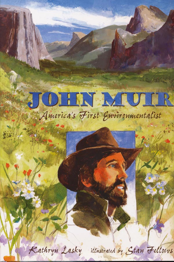 John Muir: America's First Environmentalist Cover