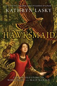 Hawksmaid: The Untold Story of Robin Hood and Maid Marian Cover
