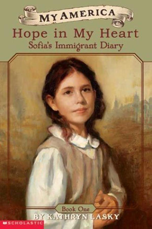 Hope In My Heart, Sofia's Ellis Island Diary (Book 1) Cover