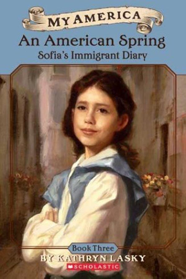 An American Spring: Sofia's Immigrant Diary (Book 3) Cover